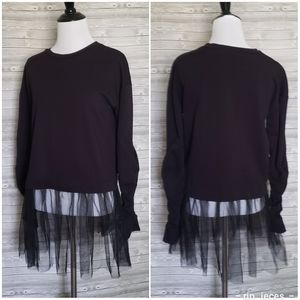 Sweaters - 4 for $25 black gothic tutu sweater